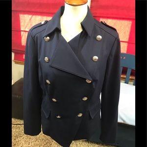 INC Navy Military Jacket